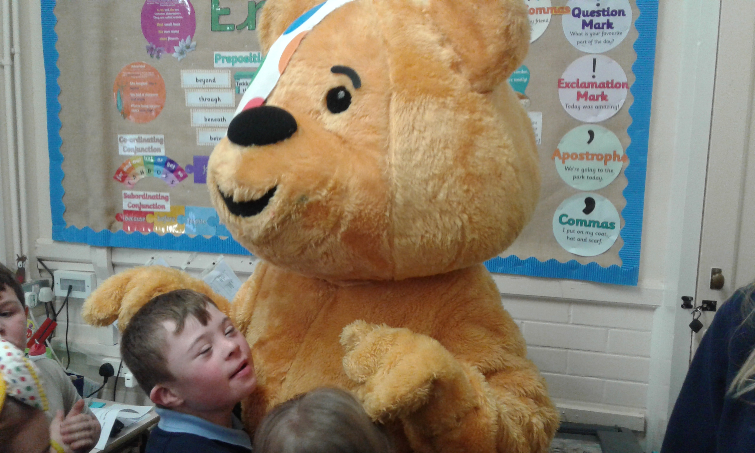 Children In Need – Special Visitor!!!!